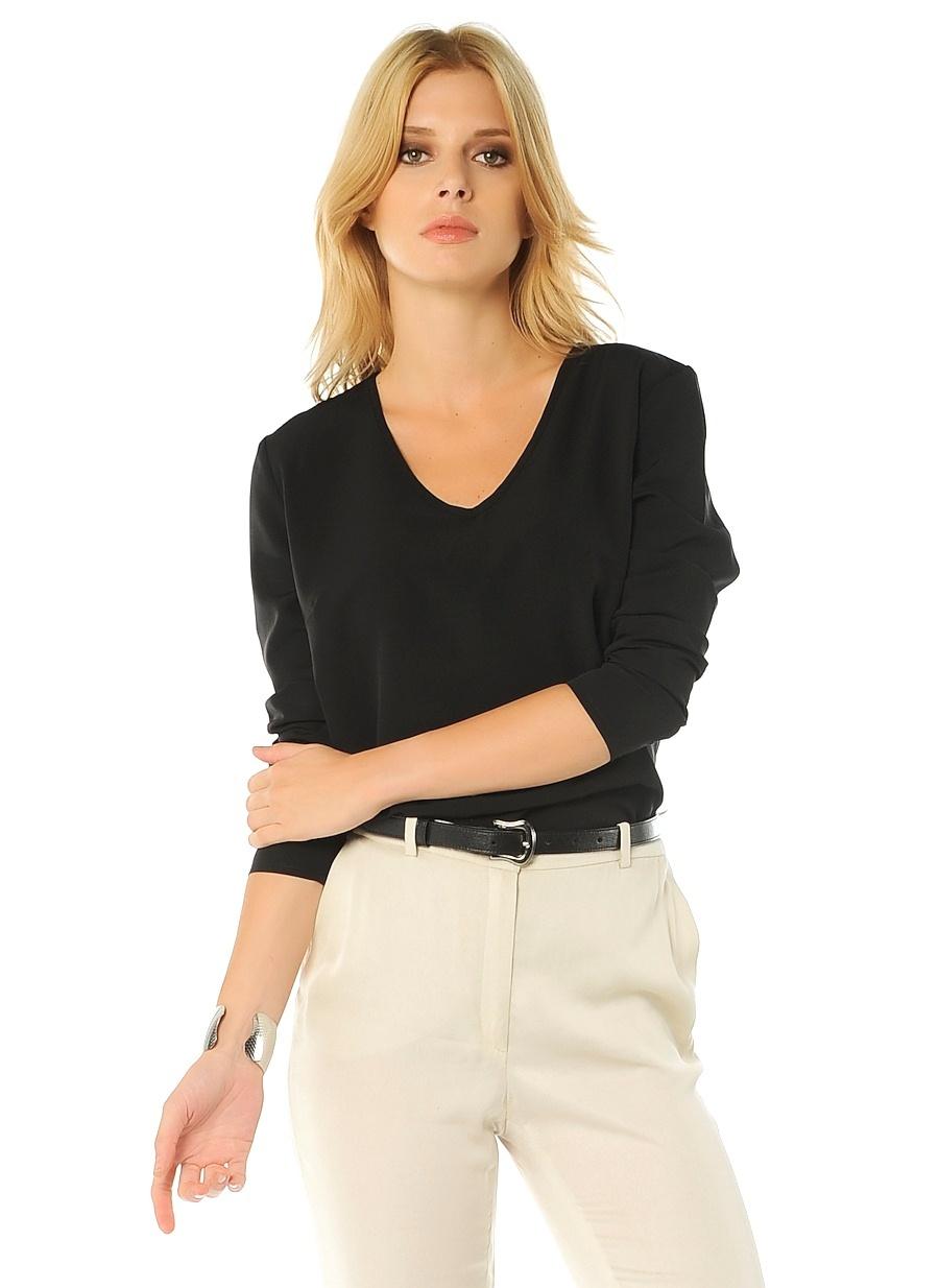 Limon Company Kadın Bluz Siyah 40 Beden